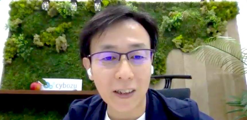 サイボウズ株式会社 代表取締役社長 青野慶久氏
